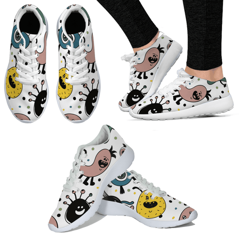 Father and Child Monsters Sneakers:Totsworld Pte Ltd
