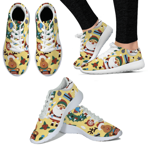 Funny Christmas Sneakers For Kids & Mother