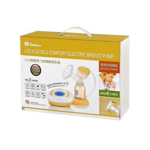 LCD 8 Levels Comfort Electric Breast Pump