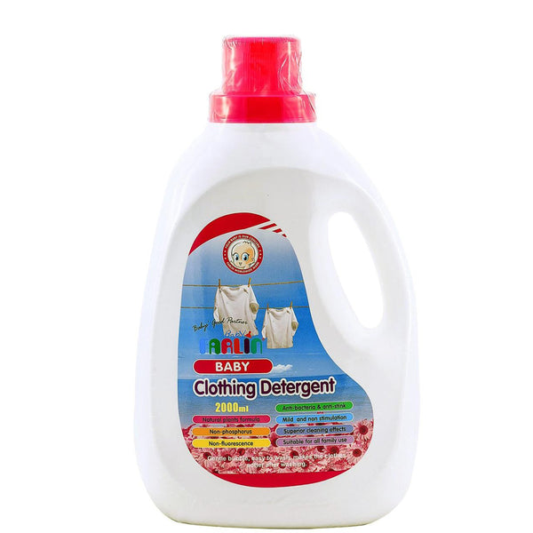 Farlin Clothing Detergent, 2000ml (6-pack) (exp 07/20):Totsworld Pte Ltd