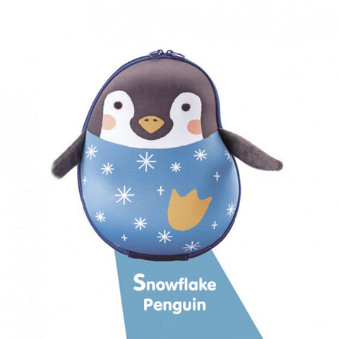 Farlin Sina & Mina Kids Backpack (4 designs):Snowflake Penguin:Totsworld Pte Ltd