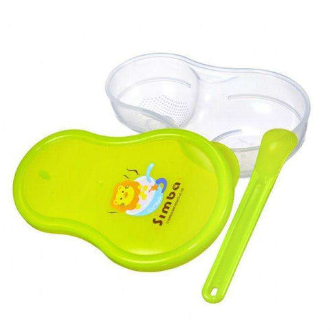 Baby Food Grinder / Storage Case Set:Green:Totsworld Pte Ltd