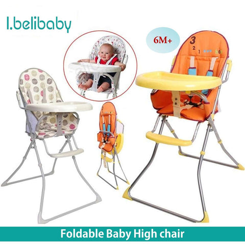 I.Belibaby Foldable High Chair:Totsworld Pte Ltd