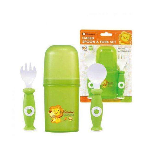 Cased Spoon & Fork Set:Totsworld Pte Ltd
