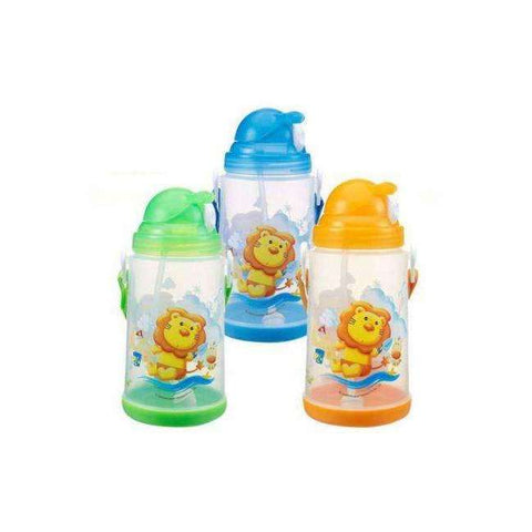 Simba Pop-up Water Bottle 650ml:Yellow:Totsworld Pte Ltd