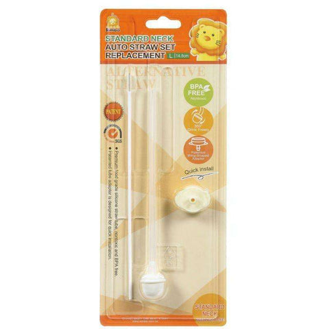 Simba Standard Neck Auto Straw Set Replacement L:Totsworld Pte Ltd