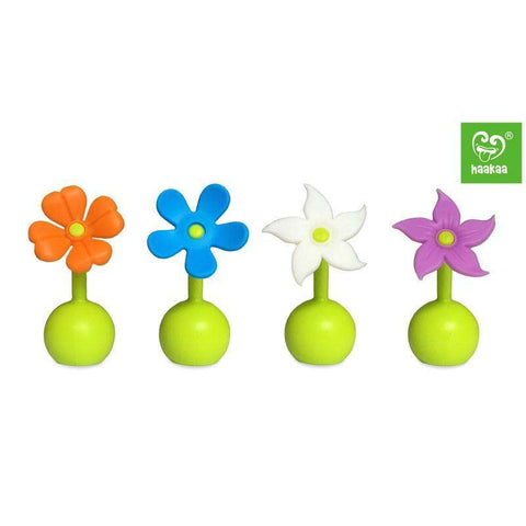 Haakaa Silicone Breast Pump Flower Stopper:Totsworld Pte Ltd