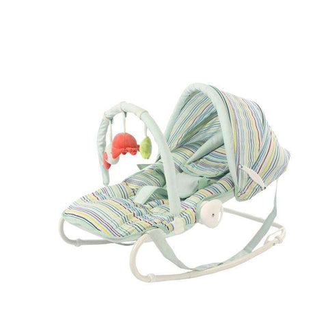 iBelibaby Rocker Bouncer:Stripes:Totsworld Pte Ltd