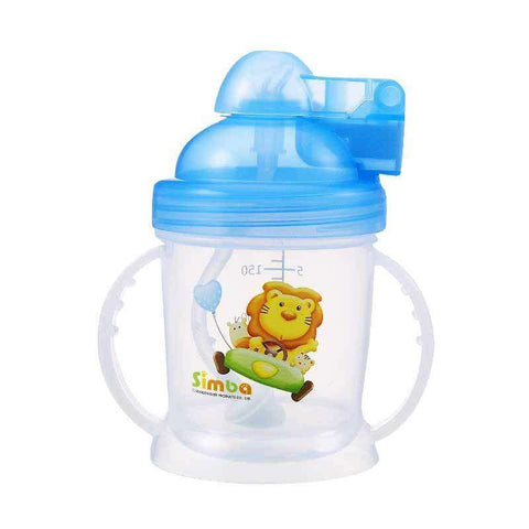 Simba Training Cup with Auto Straw 180ml:Totsworld Pte Ltd