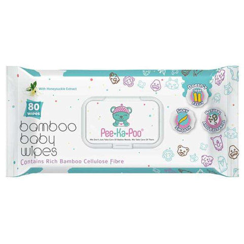 Bamboo Wet Wipes With Honeysuckle Extract:Totsworld Pte Ltd