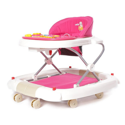 Farlin 2-in-1 Baby Walker/Rocker w/o Brake Pads - Pink