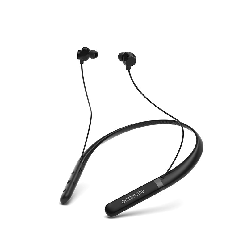 Padmate S17 Bluetooth Neckband Headphones | Dual Pairing mode