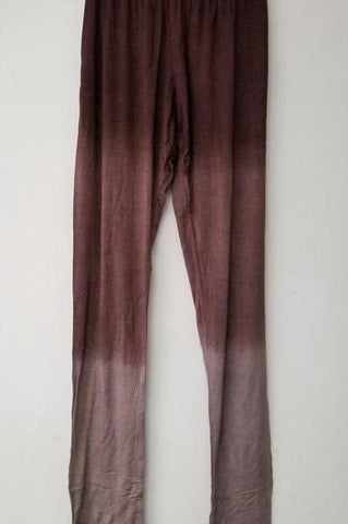 Ombre Tie-Dye Full Length Leggings