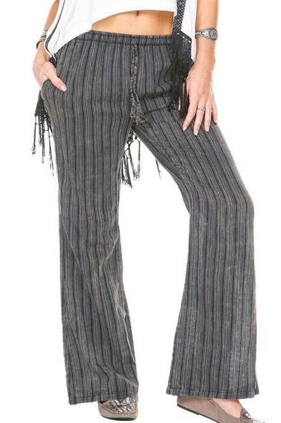 Women's Clothing | Woman's Contemporary Fashion | Lounge Strip Print Pants