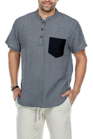 Men's wear | Men's Clothing | Men's Button Up Kurta Shirt