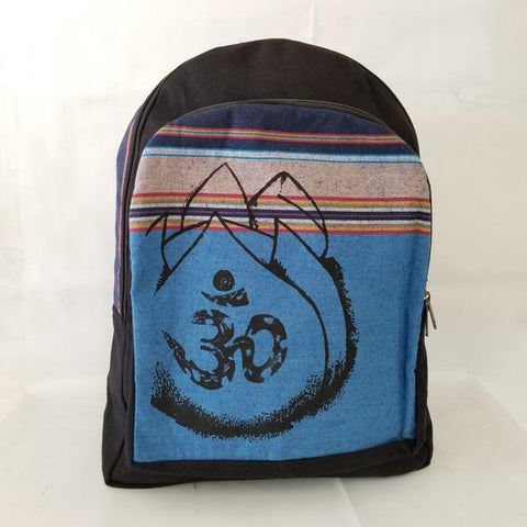 Rasta Bag | Om Lotus Flower Backpack