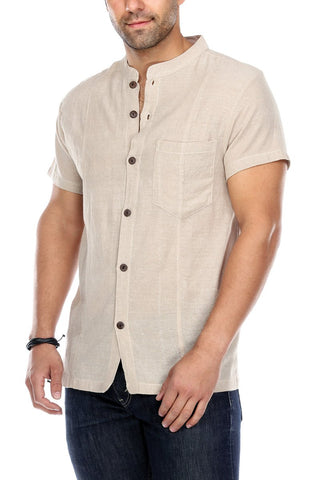 Button Up Shirt Solid Color
