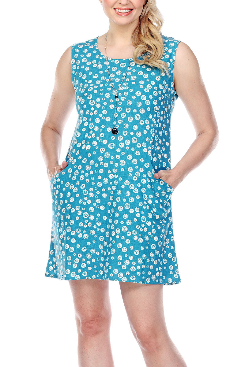 Dress Multidots Front Pockets