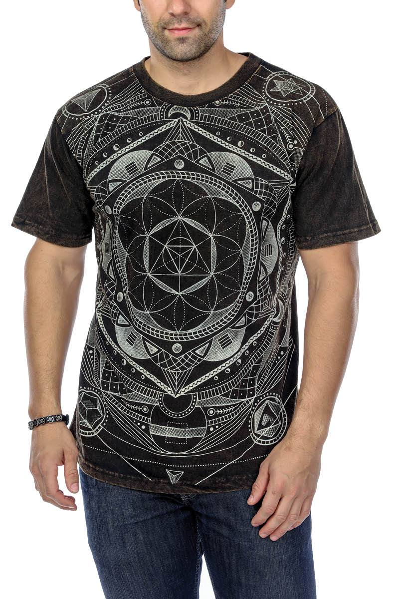 T-Shirt Sacred Geometry Print