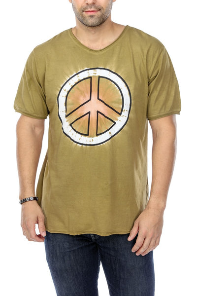 T-Shirt Tie Dye Peace Sign