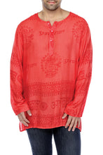 MEDITATION SHIRT BUTTON UP LONG SLEEVE