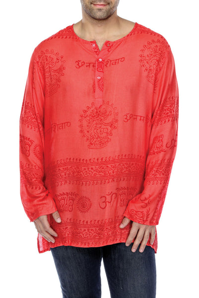Mandala printed clothing | men's Clothing | Mantra Kurta Shirt