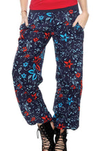 Boho Clothes | Woman's Contemporary Fashion | Floral Harem Pant With Pockets