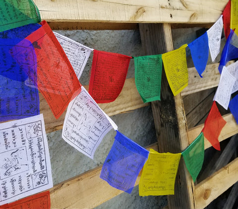 Meditation Tools | Prayer Flags Protection From Negative Energy