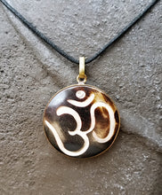 "HANDCARVED ""OM"" NECKLACE"