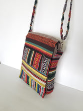 Striped Gheri Messenger Bag
