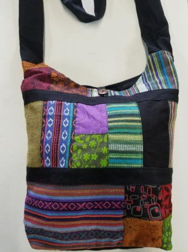 Rasta Bag | Multi Patched Bag