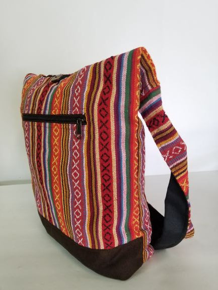 Rasta Bag | Front Zipped Gheri Sling Bag