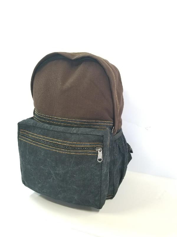 LARGE DENIM BACKPACK