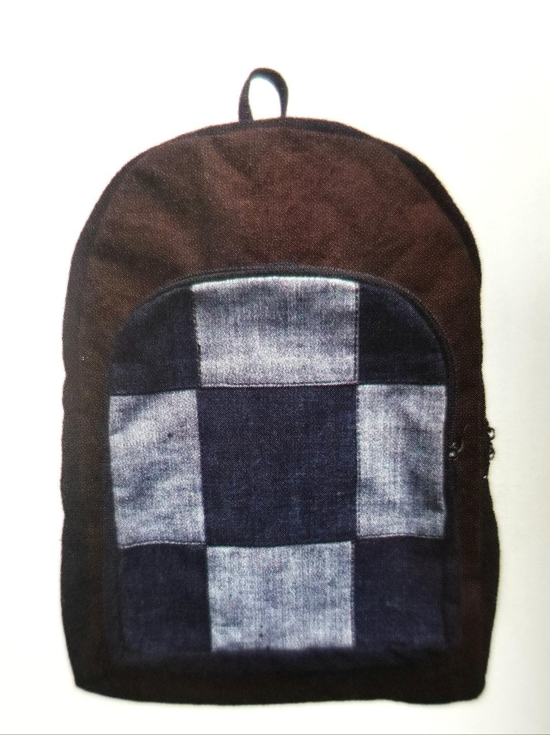 Rasta Bag | Checkered Back Pack'