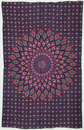Tapestry | Lotus Flower Mandala Tapestry