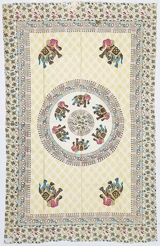 Tapestry | Mandala With Elephants Tapestry