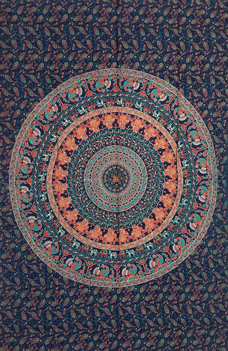 Tapestry | Mandala Elephants Tapestry