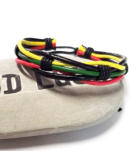 Bracelat | Accessories |  Men's Rasta Bracelet