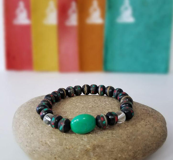 Bracelat | Accessories |  Jewelry | Handmade Recycled Bead Bracelet