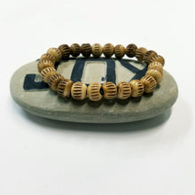 Recycled Bone Carved Bracelet
