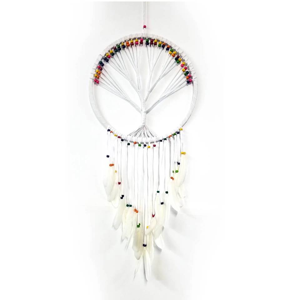 Dream Catchers | Home Decoration | Dream Catcher Tree Of Life Feathers