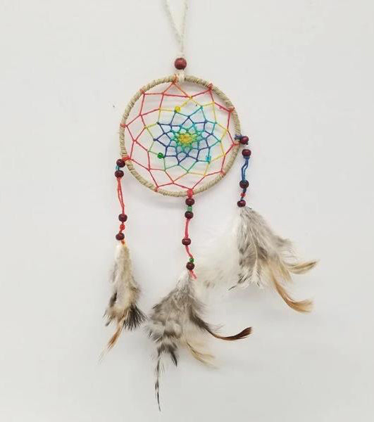 Dream Catchers | Home Decoration | Dream Catcher Feathers Multi Color Web