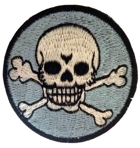 Skull Embroidery Patch