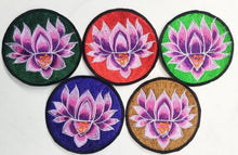 Lotus/Om Patch (Pack Of 5)
