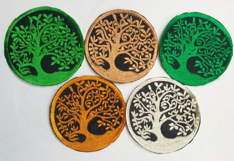 Tree Of Life Patches (Pack Of 5)