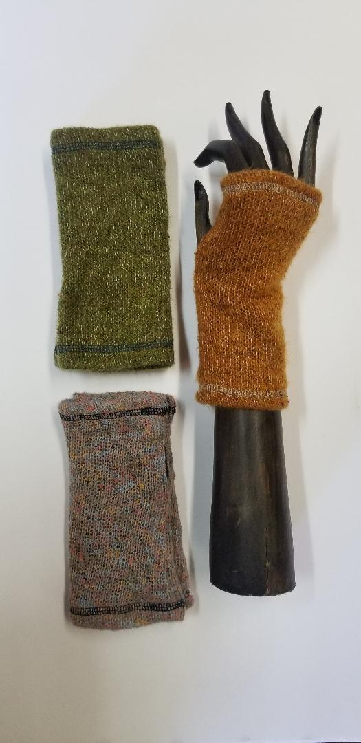 Solid Color Knit Hand Warmers