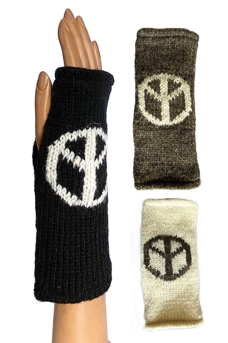 Peace Sign Hand Warmers