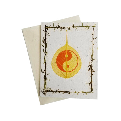 Yin Yang Greeting Cards (Pack Of 5)