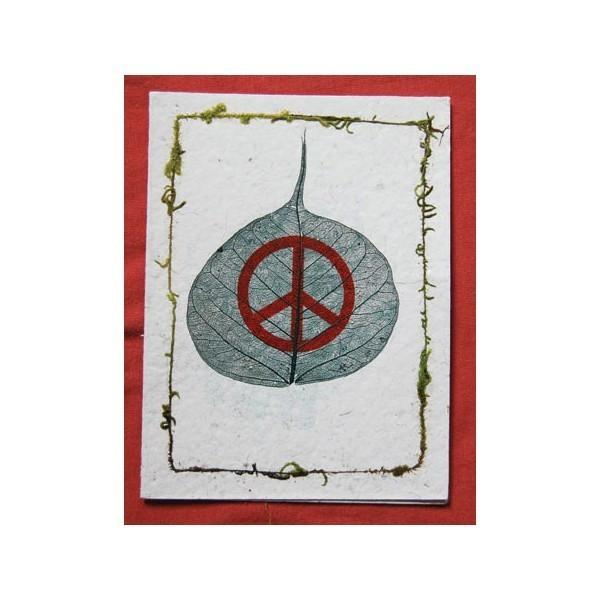 Peace Symbol Cards (Pack Of 4)
