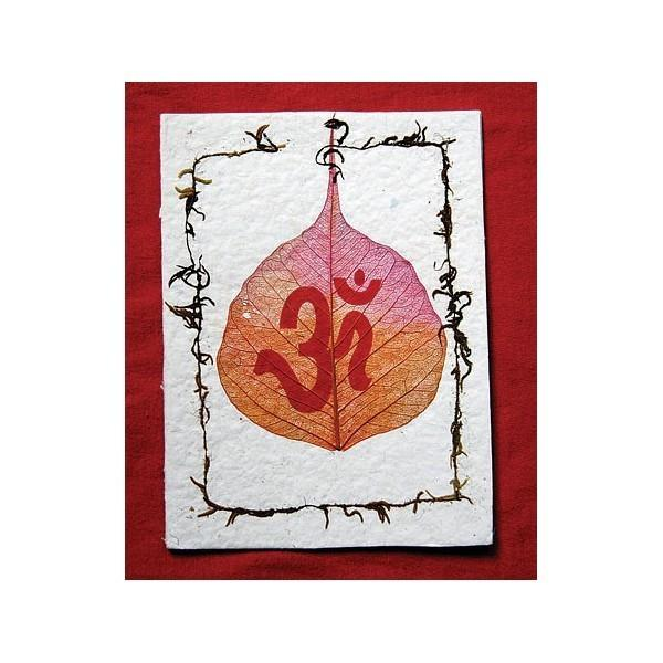 Om Greeting Cards (Pack Of 5)
